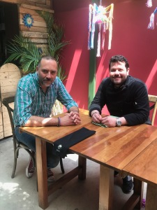 Patricio Santín y Chef Diego Carreño