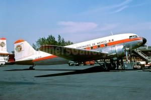 DC3 aeronaves de méxico