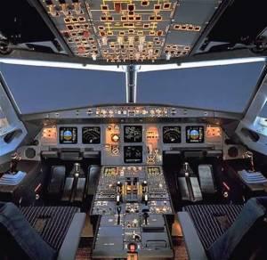 Tableros de aviones comerciales