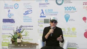 Entrevista a Charly Alberti sobre sustentabilidad para Unilever