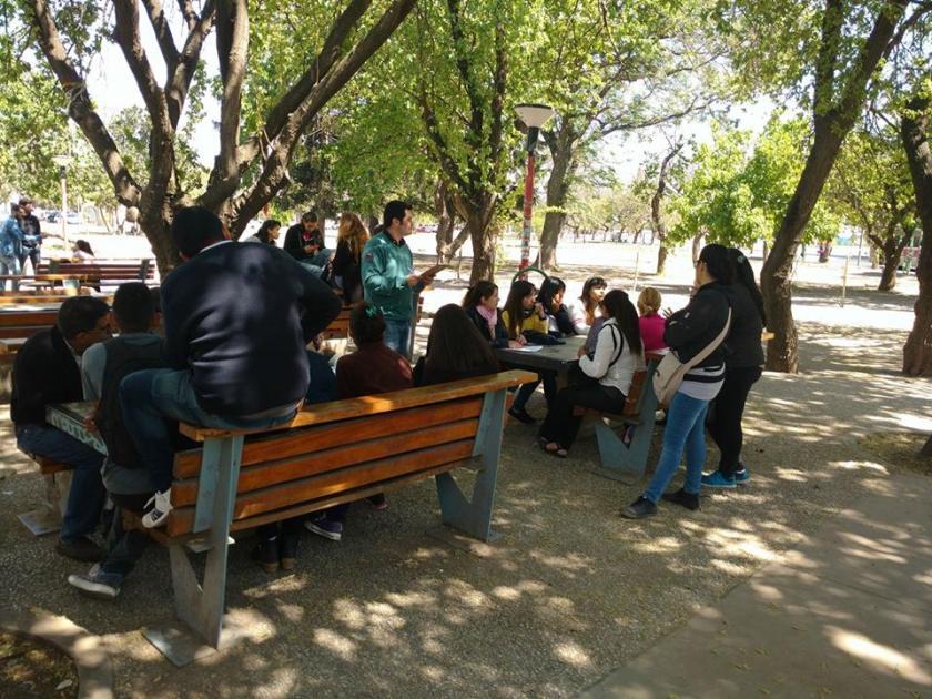 Foto: Daniel Maidana / Jobbers /Capacitación gratuitas en plazas