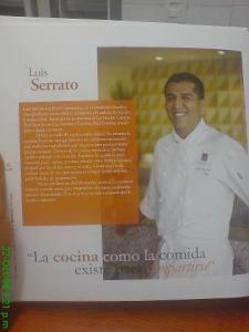 Foto: Chef Luis Serrato.