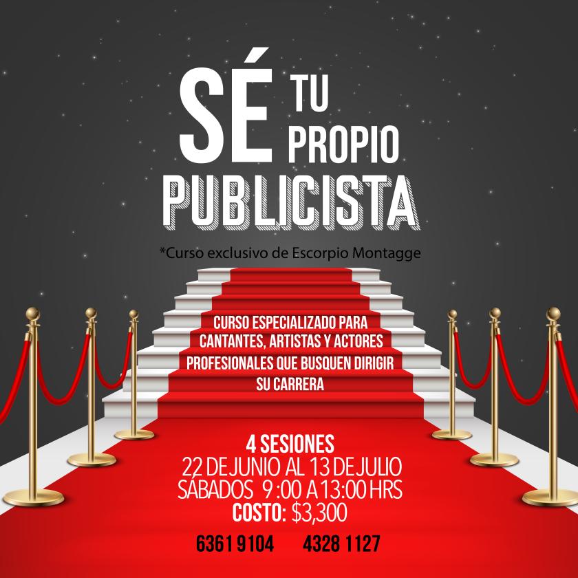 Foto: Escorpio Montagge / Sé Tu Propio Publicista