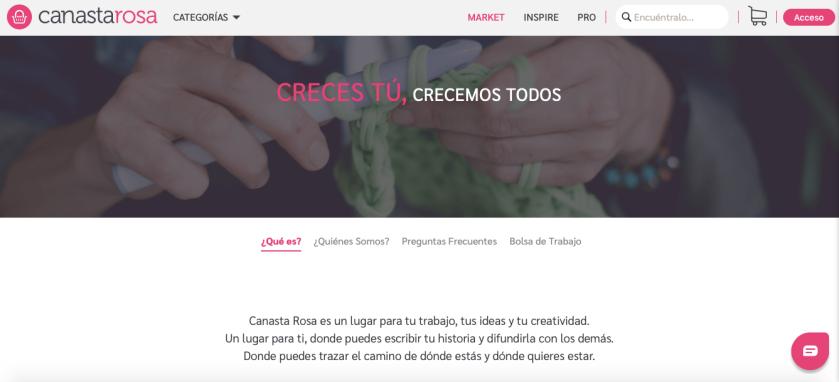 Foto: sitio web Canasta Rosa