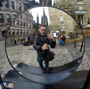 Foto: Edimburgo. Cortesía de Jonatan Vidal
