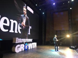 Foto: cortesía de Gaby Reséndiz. Evento Entrepreneur Growth -Rodrigo Herrera